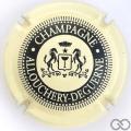 Champagne capsule 1 Crème et noir