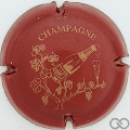 Champagne capsule 3 Bordeaux