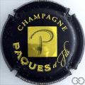 Champagne capsule 7 Noir et or-jaune