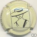 Champagne capsule 15 Fond crème