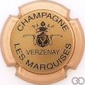 Champagne capsule 9.b Or, contour cuivre