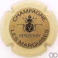 Champagne capsule 9.bm Or, contour crème