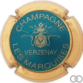 Champagne capsule 9.bs Turquoise, contour or mat