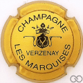 Champagne capsule 9.bq Or brillant et noir