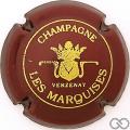 Champagne capsule 9.ad Bordeaux métallisé et or, petit 'champagne'