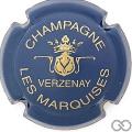 Champagne capsule 9.bz Bleu mat et or