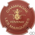 Champagne capsule 9.be Bordeaux et or