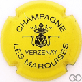 Champagne capsule 9.bi Jaune et noir
