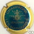 Champagne capsule 9.br Turquoise, contour or brillant