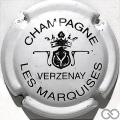 Champagne capsule 9.ba Blanc et noir