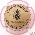 Champagne capsule 9.bp Or, contour violacé