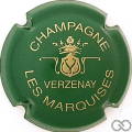 Champagne capsule 9.bw Vert et or