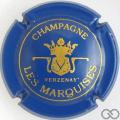 Champagne capsule 4 Bleu et or, petit 'champagne'