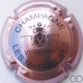 Champagne capsule 9.bv Violacé et noir