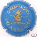 Champagne capsule 9.bd Bleu clair et or