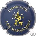 Champagne capsule 10 Bleu et or