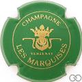 Champagne capsule 2 Vert et or, petit 'champagne'