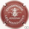 Champagne capsule 9.bzb Bordeaux et argent