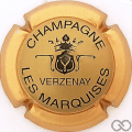 Champagne capsule 9.bn Or, contour or