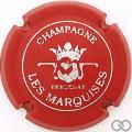Champagne capsule 7 Rouge et argent, petit 'champagne'