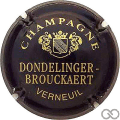 Champagne capsule 2.e Noir et or