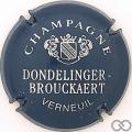 Champagne capsule 2.c Bleu métal