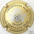 Champagne capsule 20.d Or, argent et noir