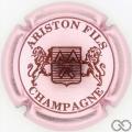 Champagne capsule 14.a Rosé pâle et bordeaux, 3 pattes au lion de droite