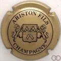Champagne capsule 11 Or et noir, 4 pattes au lion de droite