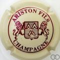Champagne capsule 17 Crème et marron, 3 pattes au lion de droite