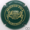 Champagne capsule 24 Vert et or