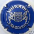 Champagne capsule 26 Bleu et or