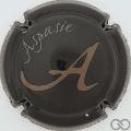 Champagne capsule 9 Noir et or pâle