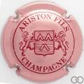 Champagne capsule 14 Rosé et bordeaux, 4 pattes au lion de droite
