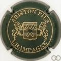 Champagne capsule 20.c Vert foncé et or, 3 pattes au lion de droite