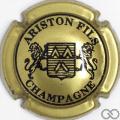 Champagne capsule 20 Or-jaune et noir, 3 pattes au lion de droite