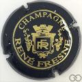 Champagne capsule 5 Noir et or brillant