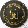 Champagne capsule 1.b Noir mat et or