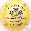 Champagne capsule 8 Plaqué or