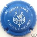 Champagne capsule 24 Bleu pâle et blanc