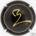 Champagne capsule 11.a Noir et or