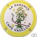 Champagne capsule A8.b Caps Vaucluse, contour jaune - NON numérotée