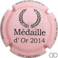 Champagne capsule 24.c Rose et noir, 2014