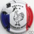 Champagne capsule A12 France Champions du monde 2018