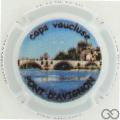 Champagne capsule 28 Pont d'Avignon, en relief
