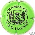Champagne capsule 30.a Vert vif et noir