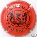 Champagne capsule 30 Rouge et noir