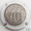 Champagne capsule 51.e 10 cents