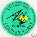 Champagne capsule 1112.i An 2020, vert