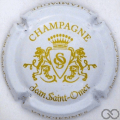 Champagne capsule 3 Blanc et or